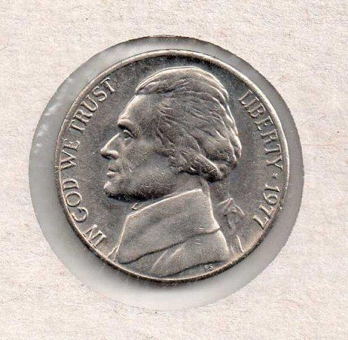 1977 p Jefferson Nickel