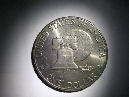 1976-D Eisenhower Dollar Strk on 40% Silver