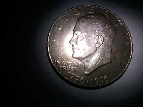 1976-D Eisenhower Dollar Strk on 40% Silver