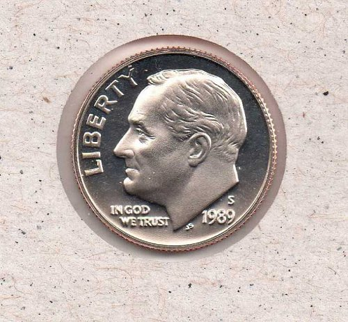1989 s Roosevelt Dime - Proof - #2