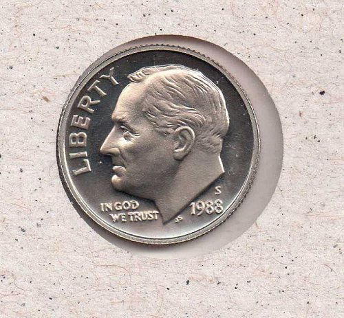 1988 s Roosevelt Dime - Proof