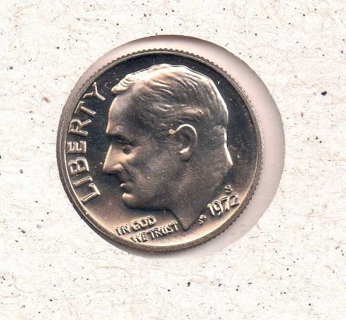 1972 s Roosevelt Dime  - Proof - #3