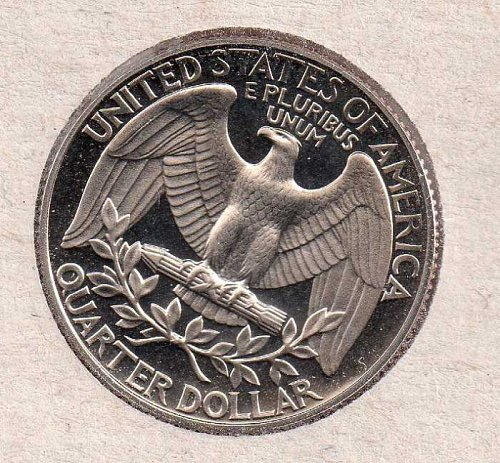 1987 s Washington Quarter - Proof