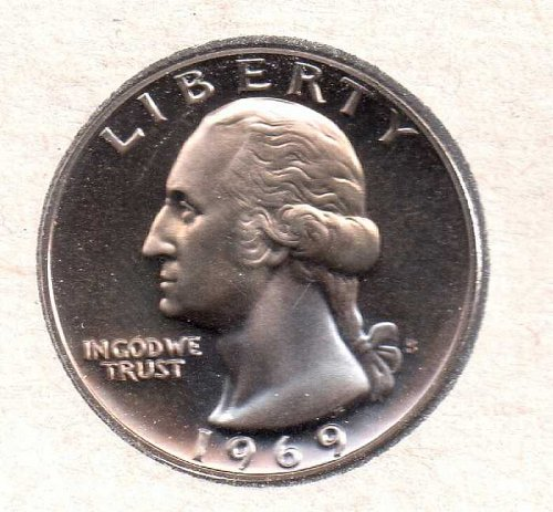 1969 s Washington Quarter - Proof - #2