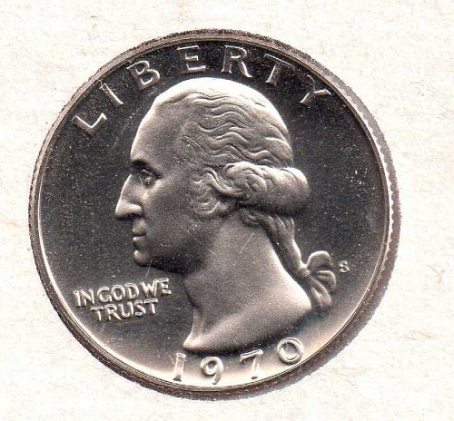 1970 s Washington Quarter