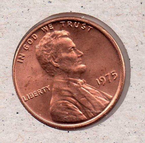 1979 p Lincoln Memorial Penny - UNC - #!