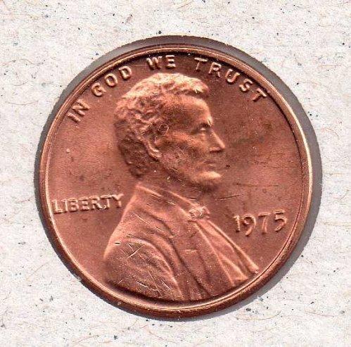 1979 p Lincoln Memorial Penny - UNC - #2