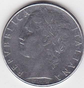 Repvbblica Italiana L.100 1979 coin