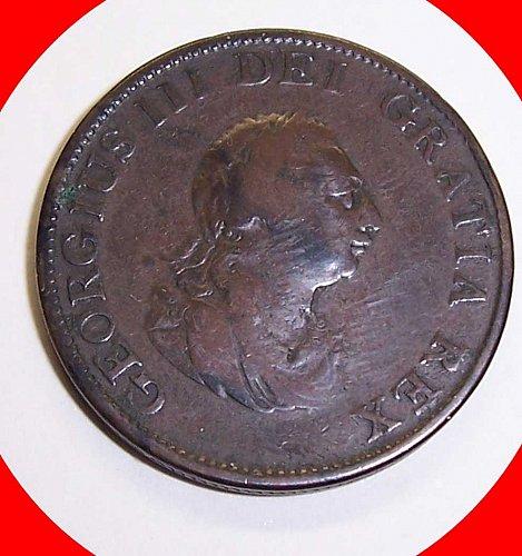 1799  1/2 Penny Great Britian