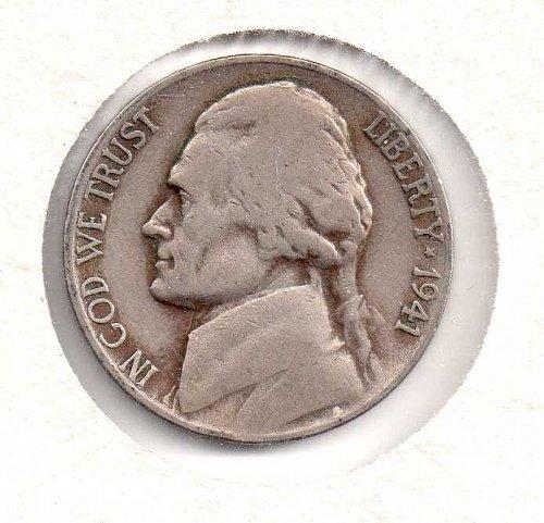1941 d Jefferson Nickel - #2