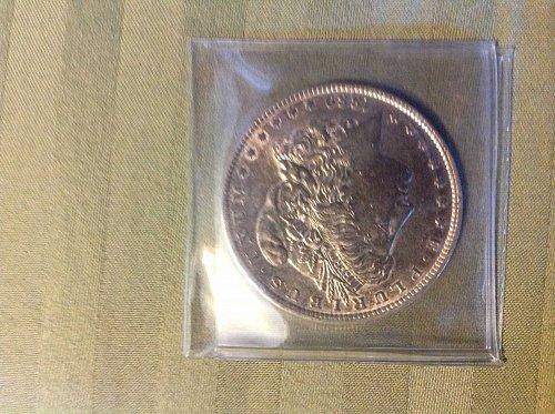 1880 P Morgan Dollar
