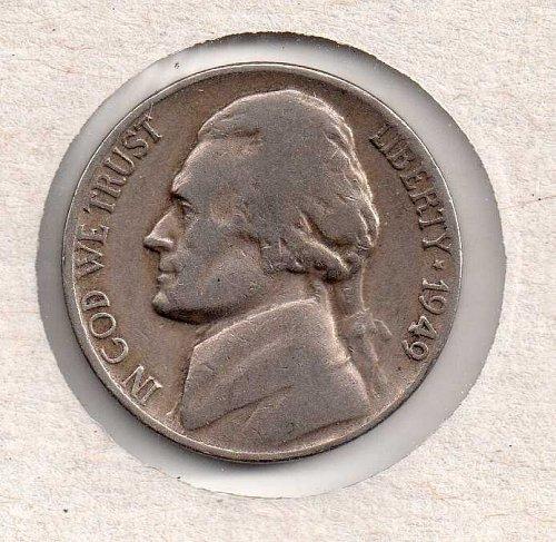 1949 d Jefferson Nickel #3
