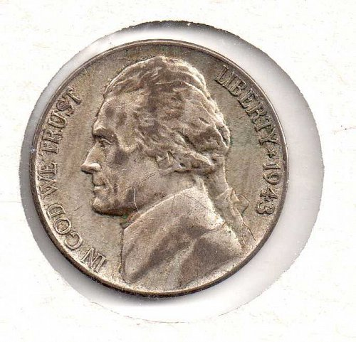 1943 p Jefferson Nickel #2