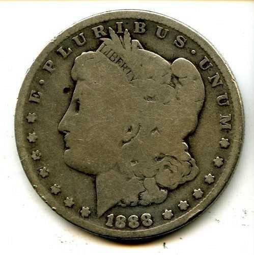1888 MORGAN SILVER DOLLAR VAM-4 TOP 100