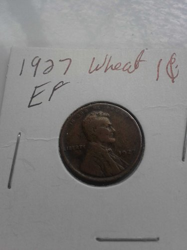 1927 Wheat Penny EF