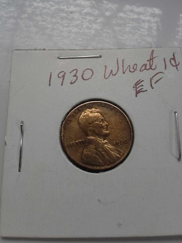 1930 VF Wheat Lincoln Cent
