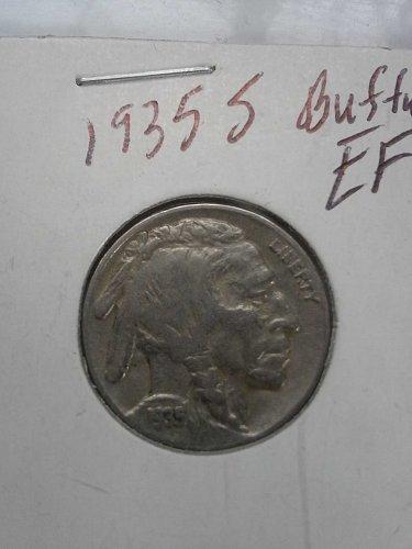 1935 S Buffalo Nickel EF