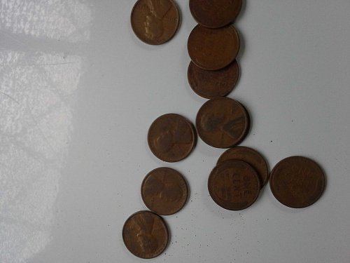 Mixed Lot of 1920s Pennies VG