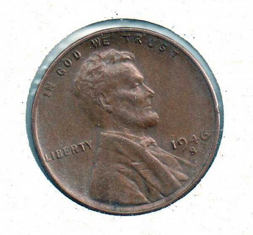 1946 s Lincoln Wheat Penny