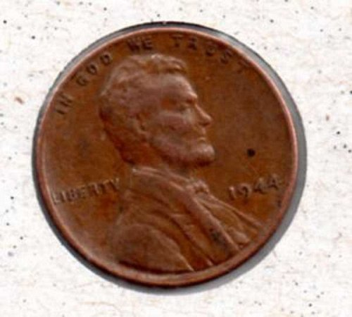 1944 p Lincoln Wheat Penny #2