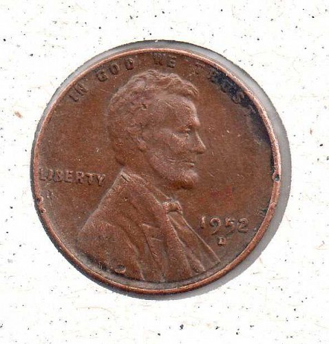 1952 d Lincoln Wheat Penny #2