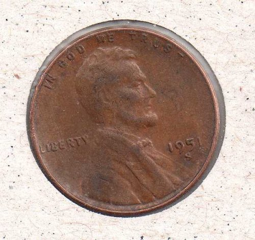 1951 s Lincoln Wheat Penny #2