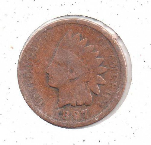 1897 p Indian Head Penny #2