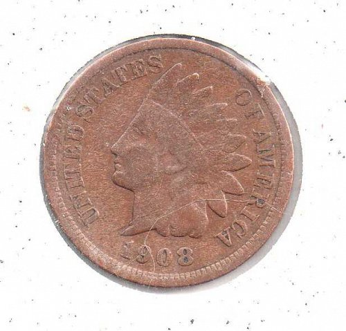 1898 p Indian Head Penny #1