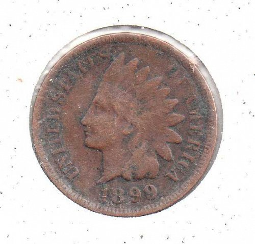 1899 p Indian Head Penny #2