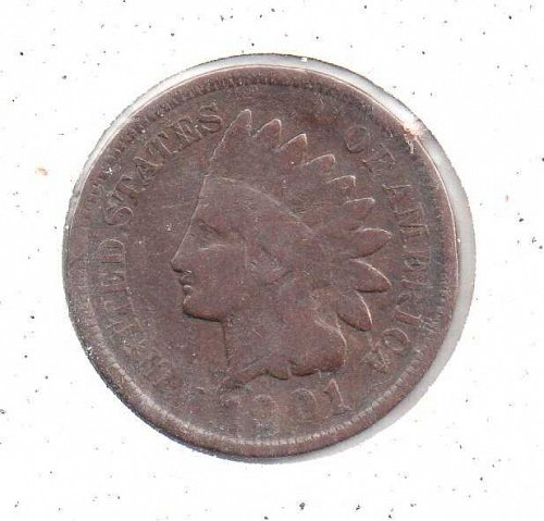 1901 p Indian Head Penny #2