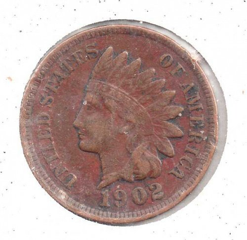 1902 p Indian Head Penny - #3