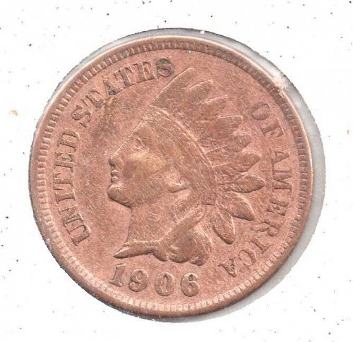 1906 p Indian Head Penny #4