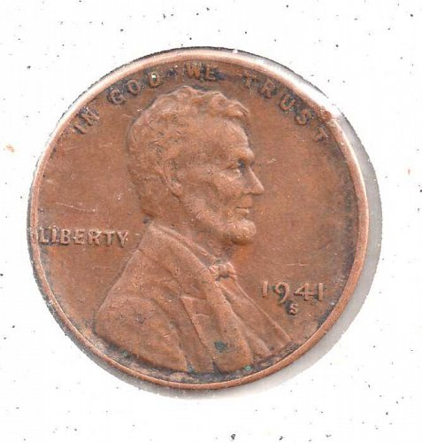 1941 s Lincoln Wheat Penny #1