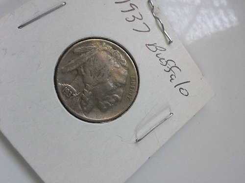 1937 Buffalo Nickel EF