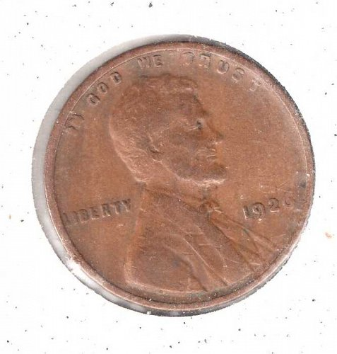 1926 p Lincoln Wheat Penny #2