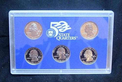 2006  STATE QUARTERS PROOF SET - MINT BOX, COA - LOT C-6