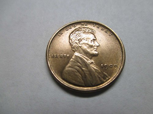 Lincoln Wheat Cent 1909 P Uncirculated
