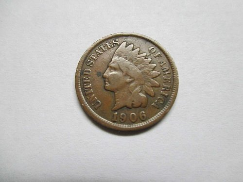 Indian Head Cent,1906