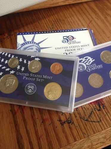 2000 10 Coin Mint PROOF Set