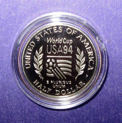 1994 WORLD CUP COMMEMORATIVE HALF DOLLAR PROOF  -  B-18