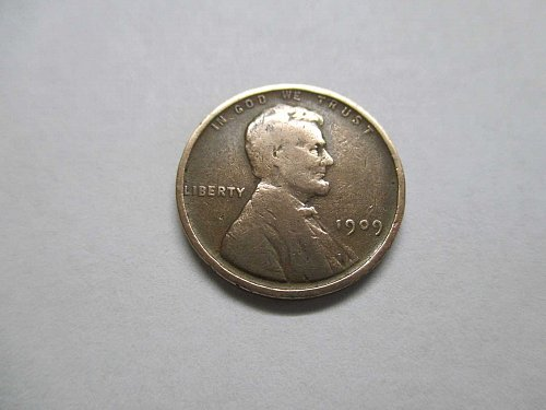 Lincoln Wheat Cent, 1909 VDB