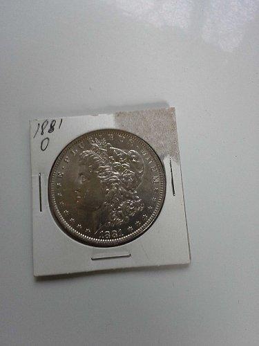 1881 O Morgan Silver dollar 90% Silver Rare Extra Fine to MS Condition - Classif