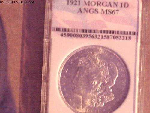 1921, Morgan Dollar MS67