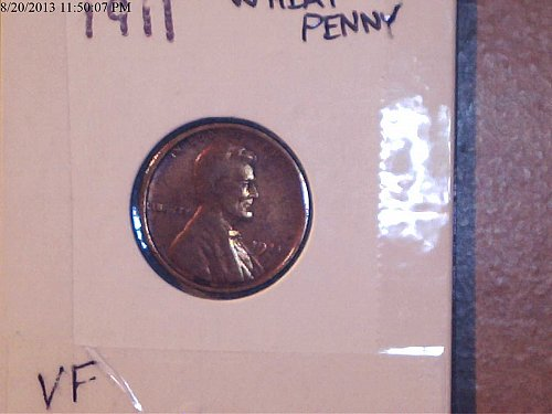 1911, Lincoln Cent