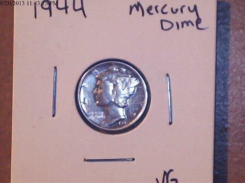 1944, Mercury Dime