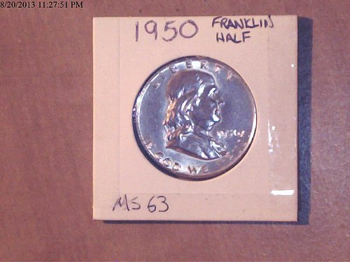 1950, Franklin Half Dollar