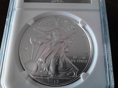 2013 Silver Eagle MS 69