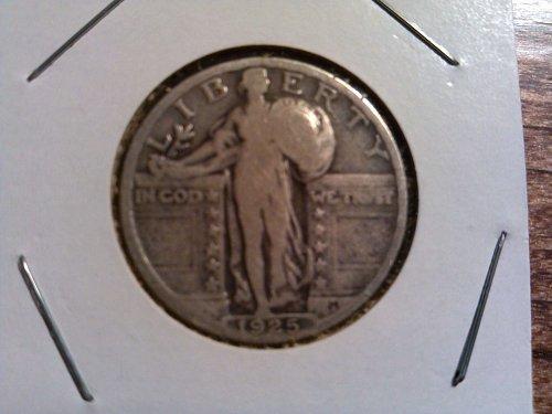 1925 Standing Liberty Quarter
