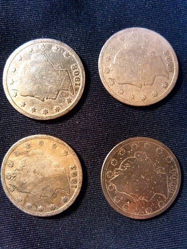 LIBERTY V Nickels worn condition - CANT' BEAT THIS PRICE!