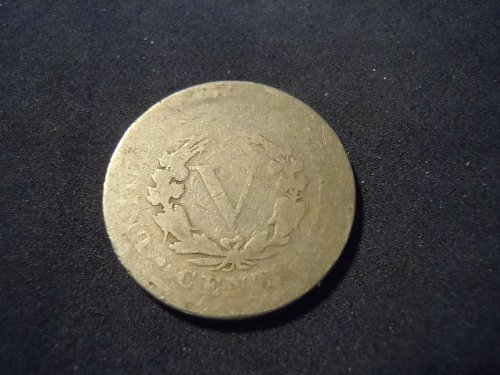 "1893 LIBERTY HEAD ""V"" NICKEL (A117)"